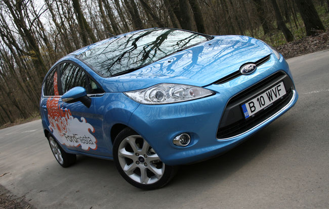 Test drive Ford Fiesta (2008)