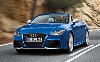 Audi a dezvaluit la Leipzig TT-RS Roadster