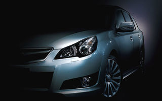 Subaru Legacy Touring, primul teaser oficial