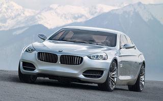 BMW pregateste Seria 6 GT
