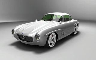 Gullwing-America a modernizat modelul Mercedes 300 SL