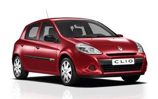 Renault Clio facelift, de la 8990 de euro in Romania