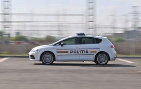 Politia Rutiera a primit un Seat Leon Cupra de 240 CP