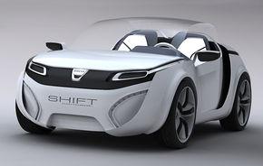 PREMIERA: Dacia SHIFT Concept. Asa arata Dacia viitorului?