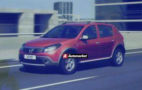 EXCLUSIV: Dacia Sandero Stepway, primele imagini ale crossover-ului