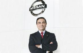 Nissan a suferit prima pierdere de cand este sub conducerea lui Carlos Ghosn