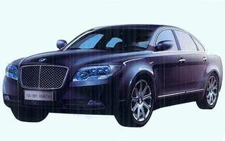 Chinezii lucreaza la o copie dupa Bentley Continental