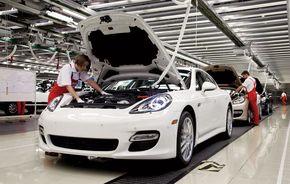 Porsche demareaza productia lui Panamera