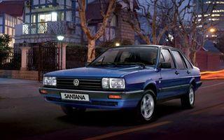 Volkswagen Santana, din 1983 pana in 2012 pe piata chineza