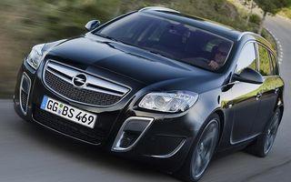 Premiera: Opel a dezvaluit Insignia Sports Tourer OPC