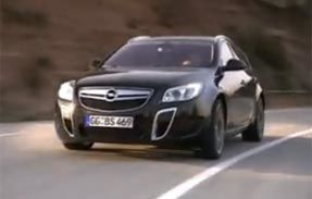 VIDEO: Opel Insignia Sports Tourer OPC, primul clip de prezentare