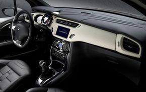 Primele imagini cu interiorul lui Citroen DS3, viitorul rival al lui Mini