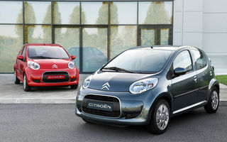 Citroen C1 facelift, de la 8190 de euro in Romania
