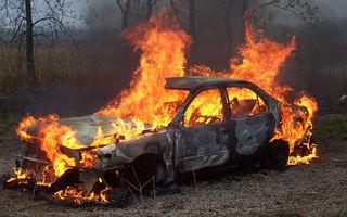 Americanii isi incendiaza masinile pentru a fi despagubiti de asigurari