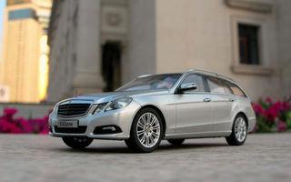 Spaniolii au creat deja macheta lui Mercedes E-Klasse Estate