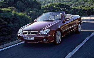 Mercedes a oprit productia lui CLK Cabrio