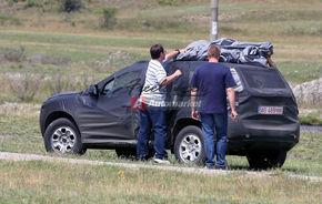 Dacia SUV, surprins in teste pe Transfagarasan