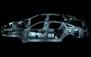 VIDEO: Noul Jaguar XJ va avea o structura din aluminiu