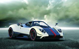 Pagani Cinque Roadster aterizeaza