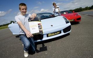 Copiii sub 17 ani pot conduce modele Lamborghini si Ferrari