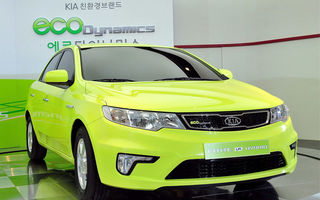 Kia a lansat primul sau hibrid GPL-electric in Coreea