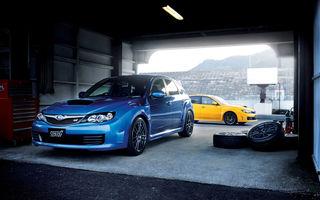 Subaru a lansat o versiune imbunatatita a lui Impreza WRX STI