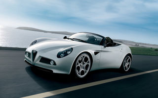 Alfa Romeo 8C Spider a prins in Germania