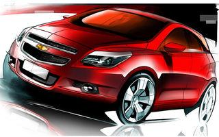 Chevrolet a prezentat primele schite ale viitorului Agile