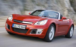 Opel a oprit productia modelului GT