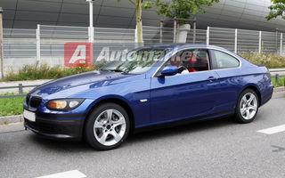 Fotospion EXCLUSIV: BMW Seria 3 Coupe si Seria 3 Cabrio