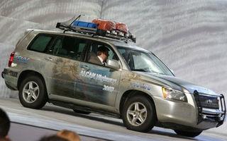 Succes in primele teste pentru Toyota Highlander pe hidrogen
