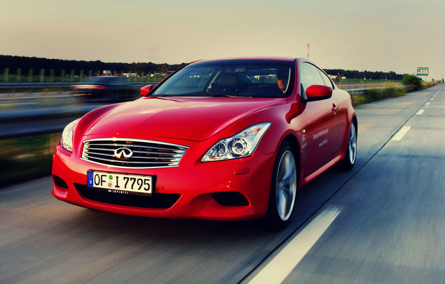 Test drive Infiniti G Coupe (2008-2014)