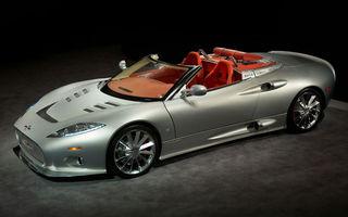 Spyker a dezvaluit noul C8 Aileron Spyder