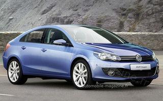 Pregateste Volkswagen un Golf Coupe cu patru usi?