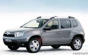 Dacia SUV: construit pe platforma lui Logan, sistem 4x4 nou