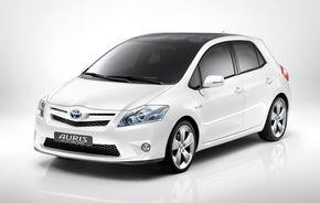 Imagini noi cu conceptul Toyota Auris hibrid