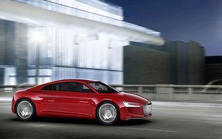 Primele imagini ale noului Audi R8 electric:  e-Tron Concept