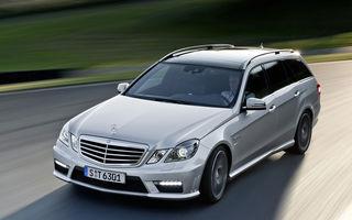 OFICIAL: Cel mai puternic break Mercedes - E63 AMG Estate