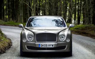 Bentley Mulsanne si-a facut debutul european la Frankfurt