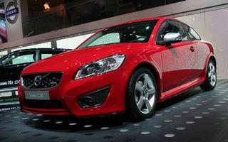 FRANKFURT LIVE: Volvo se prezinta cu C30 si C70 facelift
