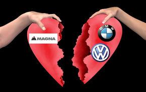 Volkswagen si BMW renunta la contractele cu Magna