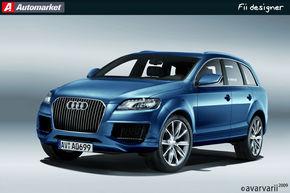 FII DESIGNER: Am desenat Audi Q7 asa cum il vreti voi!