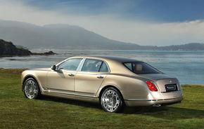 Bentley Mulsanne vine in varianta coupe si cabrio