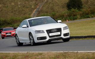 Audi a lansat cel mai usor A5 Coupe, in versiune concept