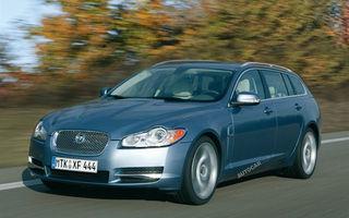 Jaguar va lansa XF Estate in 2012