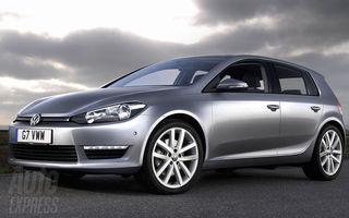 Asa va arata noul Volkswagen Golf 7?