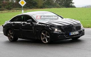 EXCLUSIV: Mercedes testeaza noul CLS 63 AMG la Nurburgring