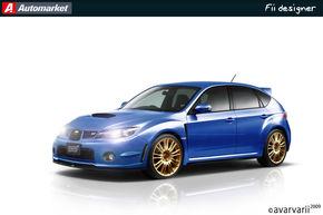 FII DESIGNER: Am desenat Subaru Impreza WRX STI asa cum l-ati vrut