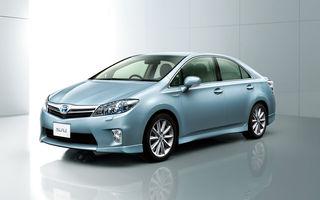 Toyota a lansat Sai, hibridul sau bazat pe Lexus HS 250h