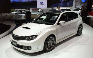 Subaru Impreza WRX STI Carbon a debutat la Tokyo